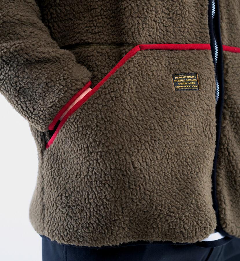 Oversize Sherpa Jacket