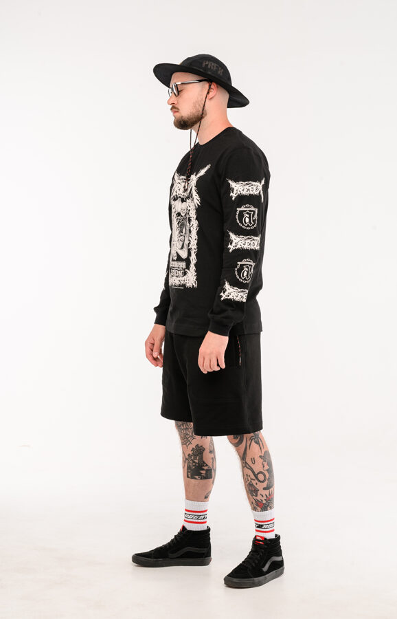 Unkown Artist Black Metal Long Sleeve