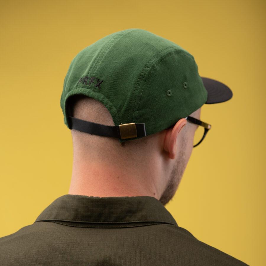 Velvet Dark-Green Cap