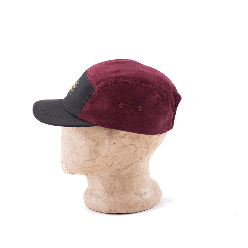 Velvet Burgundy Cap