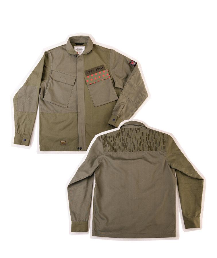 Patchwork Field Shirt